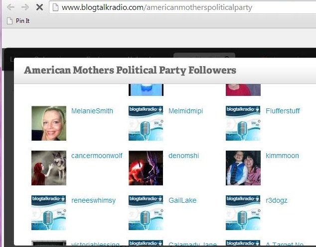 AMPP Blog Talk. Not only is Melanie Smith a follower of AMPP, but Claudine's profile pic also appears on the Australian Mothers Political Party page.