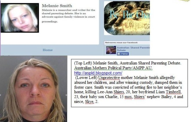 Is Unprotective Mother and killer Melanie Smith connected to AMPP?